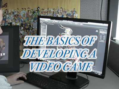 developing video game